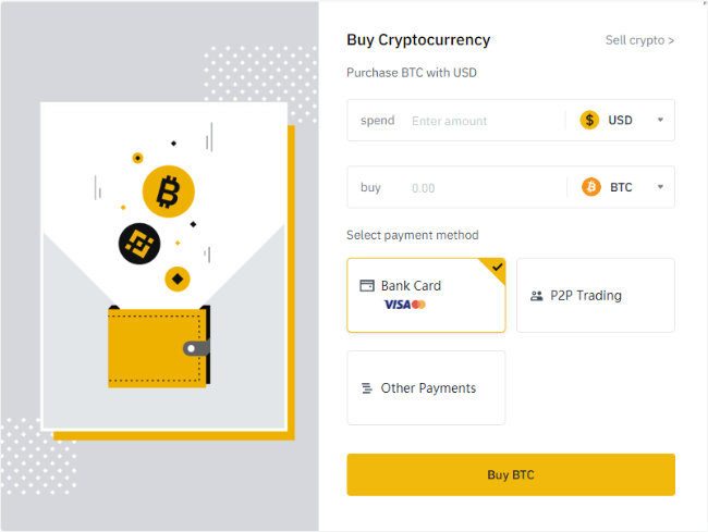 Buying Coins on Binance