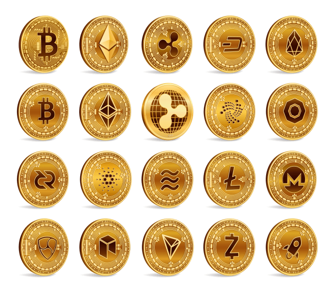 List of golden cryptocoins