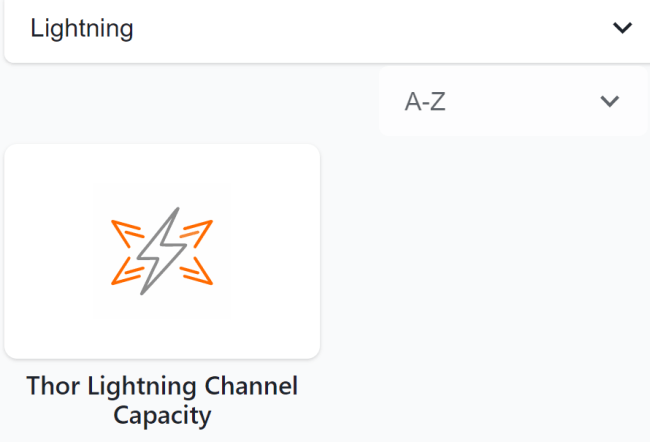 Bitrefill  has also introduced a unique lightning network channel