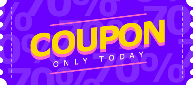 Discount Coupon illustration