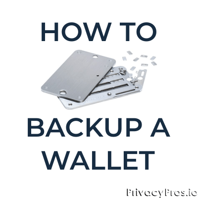 How to backup a Bitcoin wallet