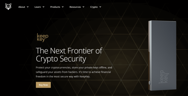Screenshot of shapeshift.com