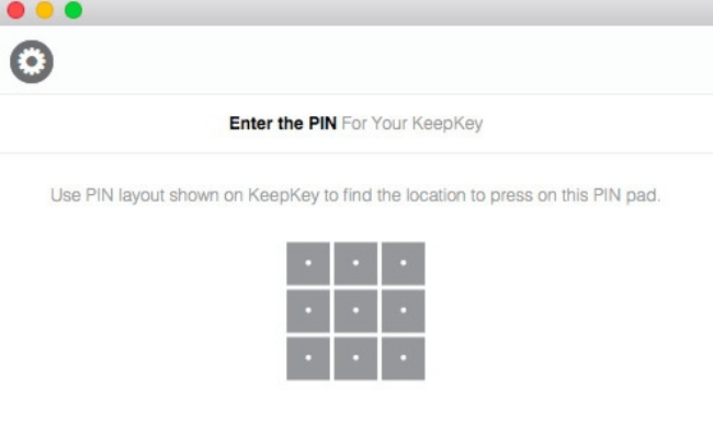 Keepkey PIN Protection