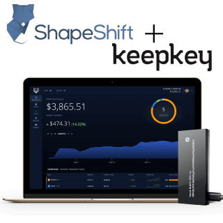 Shapeshift and Keepkey