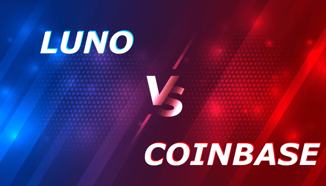 Luno versus Coinbase illustration