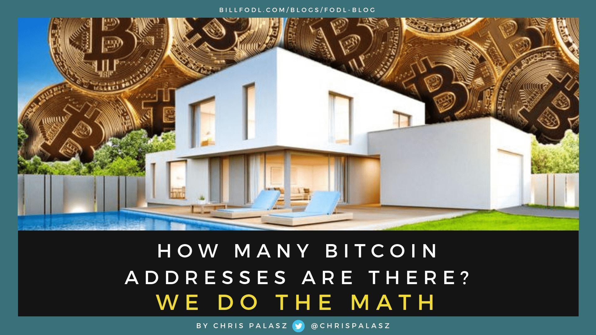 bitcoin how many addresses