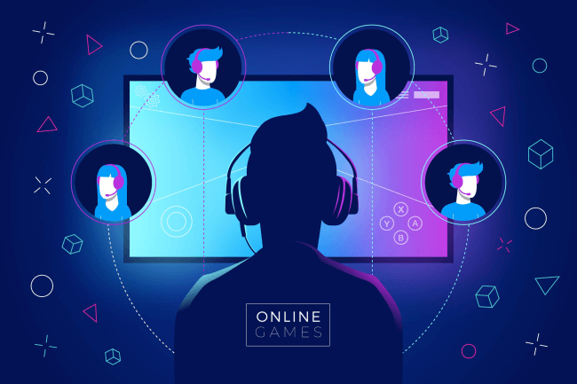 Gaming illustration