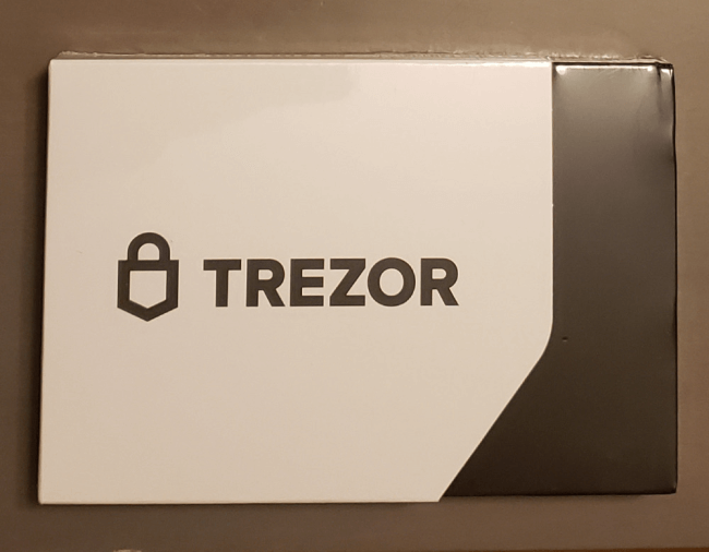 Box with hardware wallet