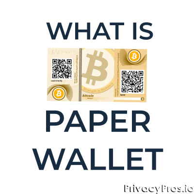 What is a paper wallet?